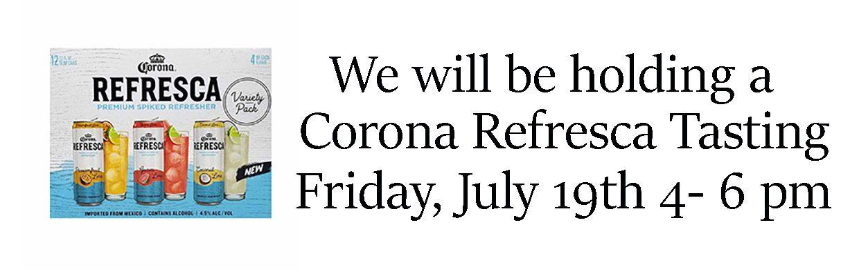 Good Time Liquors Corona Refresca Tasting