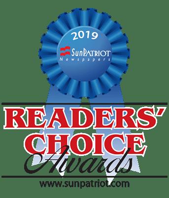 Sun Patriot Readers Choice Award 2019 Badge